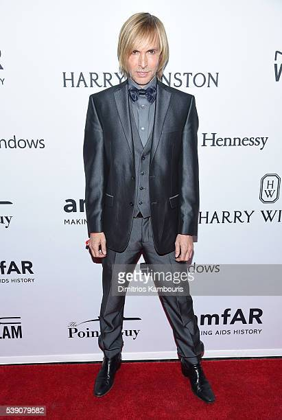 Designer Marc Bouwer attends the 7th Annual amfAR Inspiration Gala at Skylight at Moynihan Station on June 9 2016 in New York City