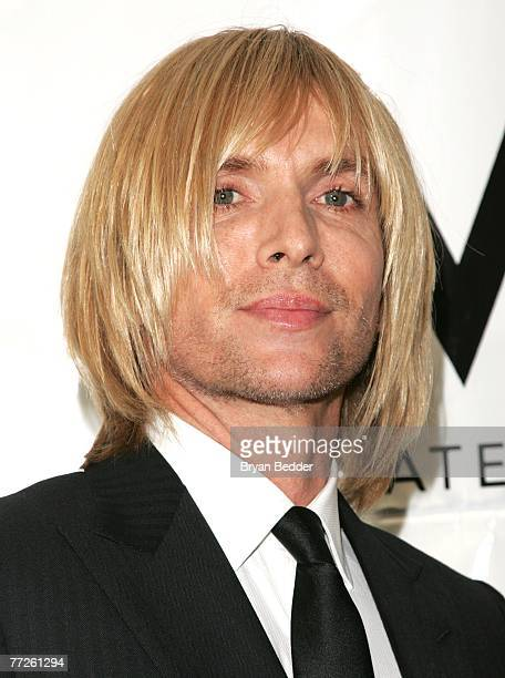 Designer Marc Bouwer attends the Heart Of Gold Ball to benefit The Happy Hearts Fund at Cipriani's Wall street location on October 10 2007 in New...