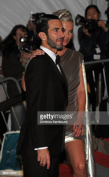 """Designer Marc Jacobs and model Kate Moss attend """"The Model as Muse: Embodying Fashion"""" Costume Institute Gala at The Metropolitan Museum of Art on..."""