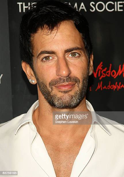 Designer Marc Jacobs attends a screening of Filth and Wisdom hosted by The Cinema Society and Dolce and Gabbana at the IFC Center on October 13 2008...