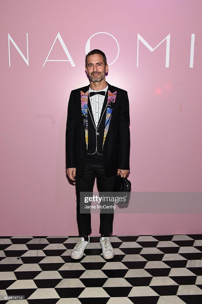 Marc Jacobs & Benedikt Taschen Celebrate NAOMI At The Diamond Horseshoe