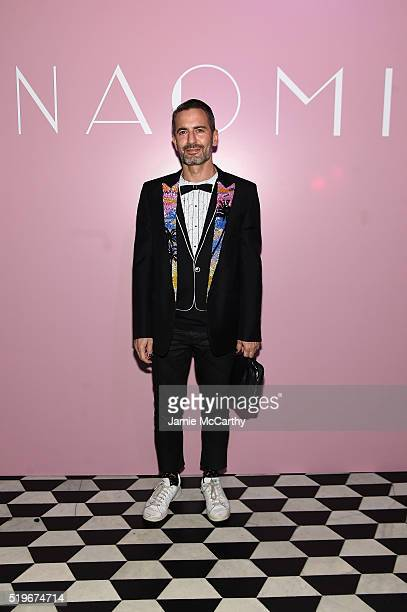 Designer Marc Jacobs attends as Marc Jacobs Benedikt Taschen celebrate NAOMI at The Diamond Horseshoe on April 7 2016 in New York City