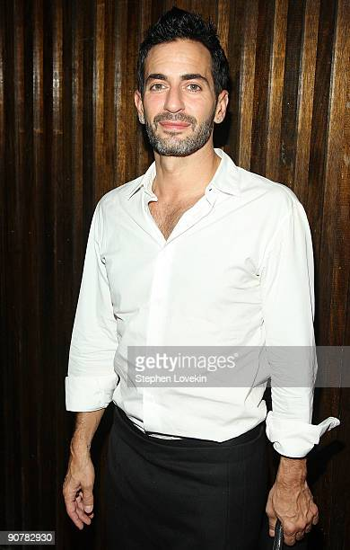 Designer Marc Jacobs attends Lady Gaga and the launch of V61 hosted by V Magazine Marc Jacobs and Belvedere Vodka on September 14 2009 in New York...