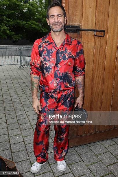 Designer Marc Jacobs attends Louis Vuitton Menswear Spring/Summer 2014 Show As Part Of The Paris Fashion Week on June 27 2013 in Paris France