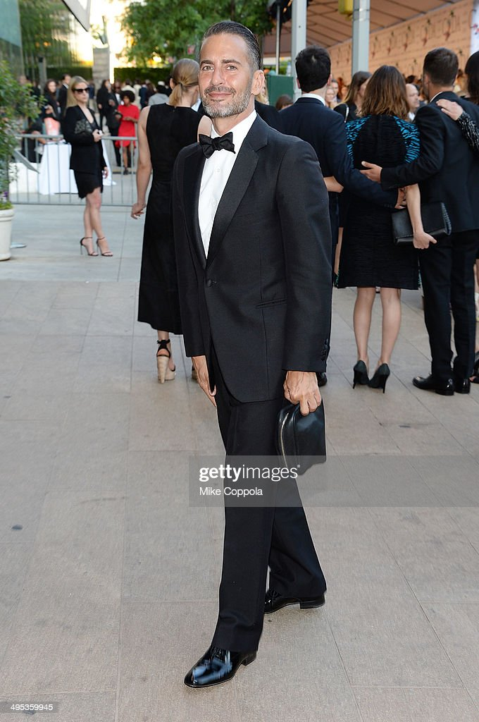 Designer Marc Jacobs attends the 2014 CFDA fashion awards at Alice Tully Hall, Lincoln Center on June 2, 2014 in New York City.