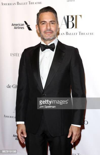 Designer Marc Jacobs attends the 2017 American Ballet Theatre Fall gala at David H Koch Theater at Lincoln Center on October 18 2017 in New York City