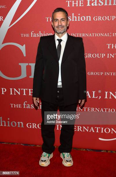Designer Marc Jacobs attends the 2017 FGI Night Of Stars Modern Voices gala at Cipriani Wall Street on October 26 2017 in New York City