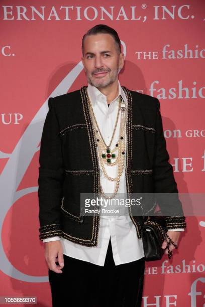 Designer Marc Jacobs attends the 2018 FGI Night Of Stars Gala at Cipriani Wall Street on October 25 2018 in New York City