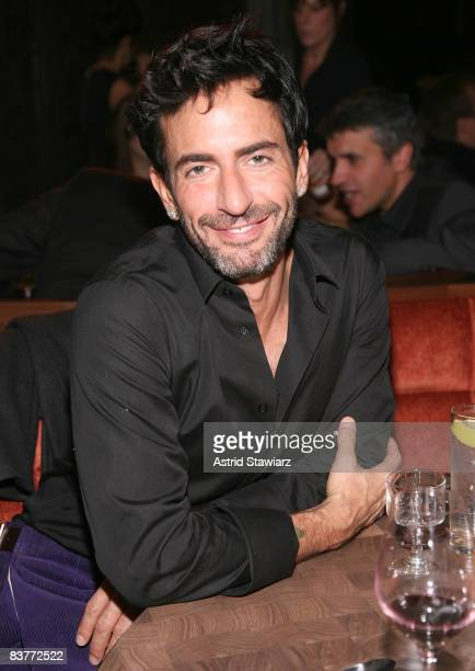 Designer Marc Jacobs attends the after party to the re-launch of MANGO's flagship store held at the Shang Restaurant on November 20, 2008 in New York...