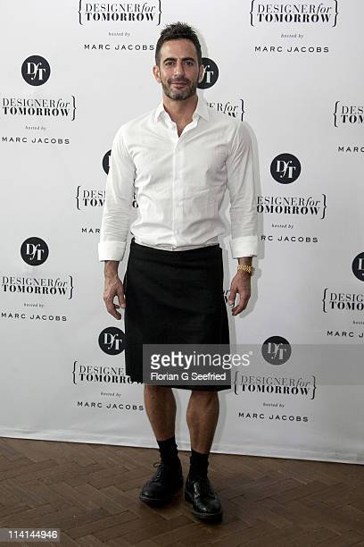 Designer Marc Jacobs attends the 'Designer for Tomorrow by Peek Cloppenburg Duesseldorf' Press Conference at Soho House on May 12 2011 in Berlin...