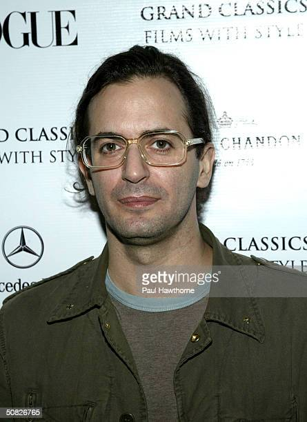 Designer Marc Jacobs attends The Grand Classics Films With Style screening of The Bitter Tears of Petra von Kant hosted by Marc Jacobs Sally Singer...