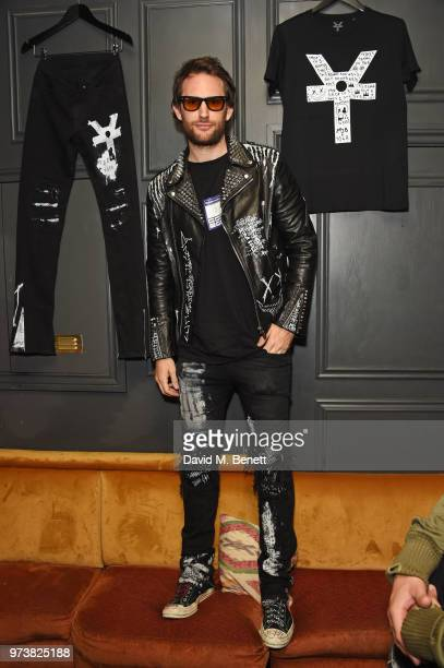 Designer Marc Jacques Burton attends the MJB x YOTA fashion capsule party supported by Ciroc who have designed MJB x YOTA Limited Edition Bottles at...