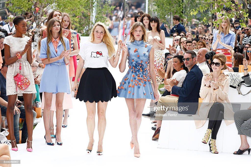 Marina Hoermanseder Defilee - Der Berliner Mode Salon Spring/Summer 2017 : News Photo