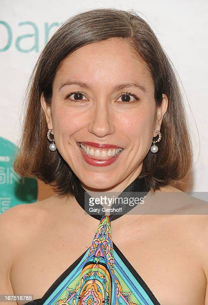 Designer Marisol Deluna attends Housing Works 9th Annual Design On A Dime Benefit at Metropolitan Pavilion on April 25 2013 in New York City