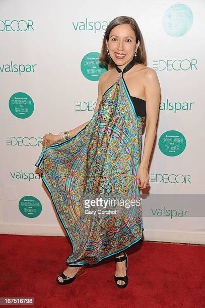 Designer Marisol Deluna attends Housing Works 9th Annual Design On A Dime Benefit at Metropolitan Pavilion on April 25, 2013 in New York City.