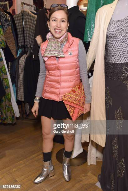 Designer Marisol Deluna attends Housing Works' Fashion for Action 2017 charity event on November 16 2017 in New York City