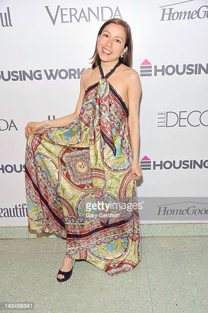 Designer Marisol Deluna attends the Housing Works 8th Annual Design on a Dime Benefit at the Metropolitan Pavilion on April 26 2012 in New York City