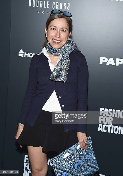Designer Marisol Deluna attends the Housing Works' Fashion for Action 2015 at the Rubin Museum on November 19, 2015 in New York City.