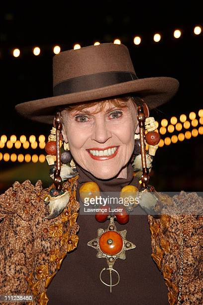 Designer Marjorie Nezin during The 2003 Gala Preview of the New York International Auto Show at The Jacob Javits Center in New York City NY United...
