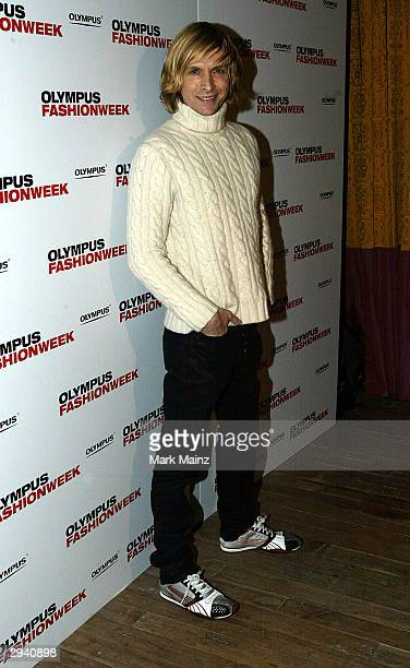 Designer Mark Bouwer attends the Olympus Fashion Week Launch Party at the Spice Market February 6, 2004 New York City.