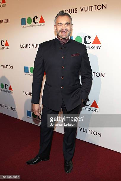 Designer Martyn Lawrence Bullard attends MOCA's 35th Anniversary Gala presented by Louis Vuitton at The Geffen Contemporary at MOCA on March 29 2014...