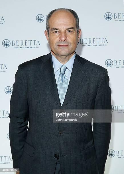 Designer Massimo Ferragamo attends the Beretta U.S.A. Reception at The Metropolitan Club on December 10, 2014 in New York City.