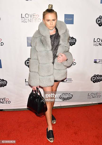 Designer Matt Sarafa arrives at the Los Angeles Premiere of LOVE IS ALL YOU NEED at ArcLight Hollywood on November 15 2016 in Hollywood California