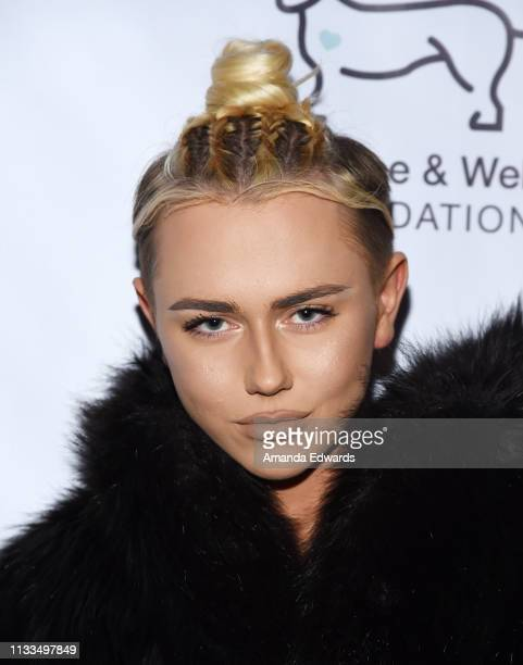 Designer Matt Sarafa attends The Animal Hope Wellness Foundation's 2nd Annual Compassion Gala at Playa Studios on March 03 2019 in Culver City...