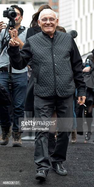 Designer Max Azria attends Fall 2014 Mercedes Benz Fashion Week on February 8 2014 in New York City