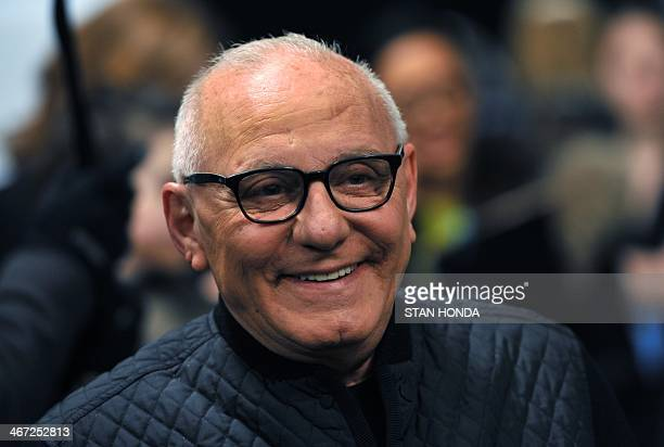 Designer Max Azria attends the BCBGMAXAZRIA during the MercedesBenz Fashion Week Fall/Winter 2014 shows February 6 2014 in New York City AFP...