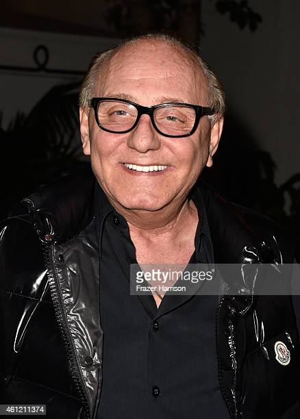Designer Max Azria attends the W Magazine celebration of the 'Best Performances' Portfolio and The Golden Globes with Cadillac and Dom Perignon at...