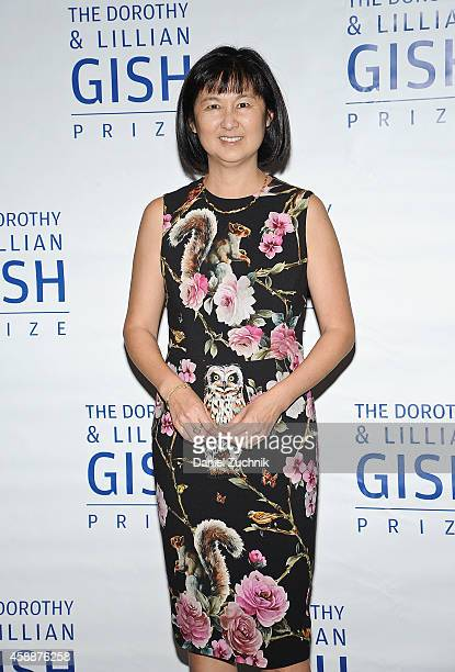 Designer Maya Lin attends the 21st Annual Dorothy and Lillian Gish Prize at Museum of Modern Art on November 12 2014 in New York City