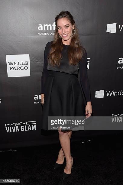 Designer Melissa Sears attends the 2014 amfAR LA Inspiration Gala at Milk Studios on October 29 2014 in Hollywood California