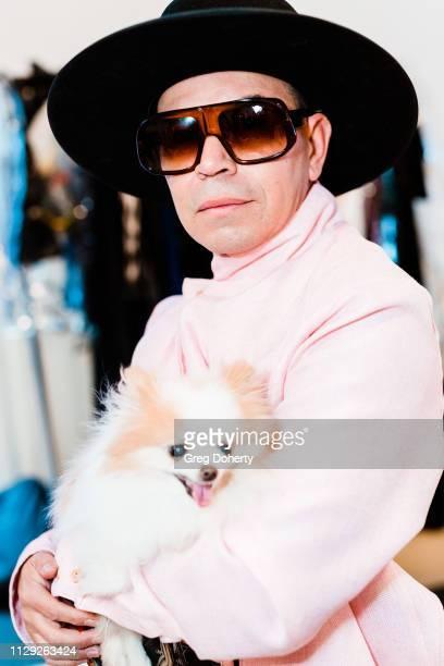 Designer Merlin Castell attends Sanctuary Fashion Weekon March 7 2019 in Los Angeles California