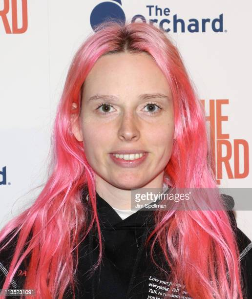 """Designer Mery Racauchi attends the """"The Hummingbird Project"""" New York screening at Metrograph on March 11, 2019 in New York City."""
