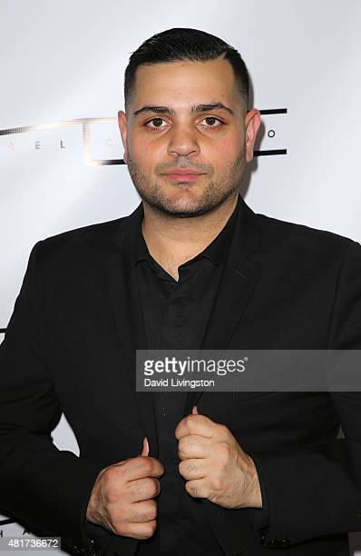 Designer Michael Costello attends the Michael Costello and Style PR Capsule Collection launch party on July 23, 2015 in Los Angeles, California.
