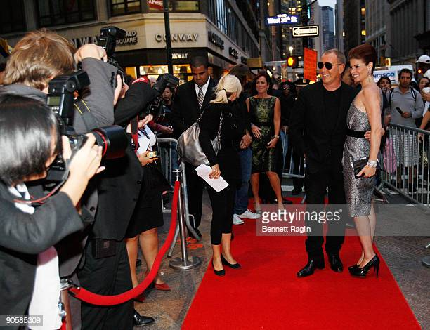 Designer Michael Kors and Actress Debra Messing attend Hollywood at Macy's Herald Square on September 10 2009 in New York City
