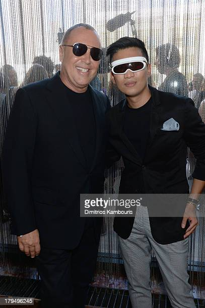 Designer Michael Kors and fashion blogger Bryanboy attend The Couture Council of The Museum at the Fashion Institute of Technology hosted luncheon...