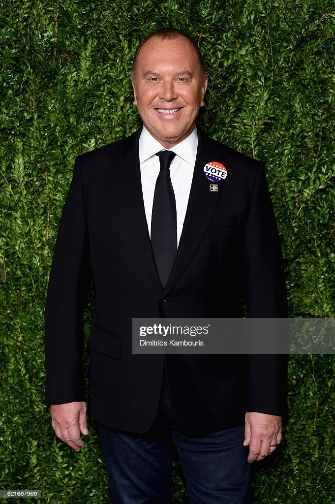 Designer Michael Kors attends 13th Annual CFDA/Vogue Fashion Fund Awards at Spring Studios on November 7, 2016 in New York City.