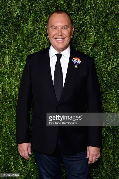 Designer Michael Kors attends 13th Annual CFDA/Vogue Fashion Fund Awards at Spring Studios on November 7 2016 in New York City