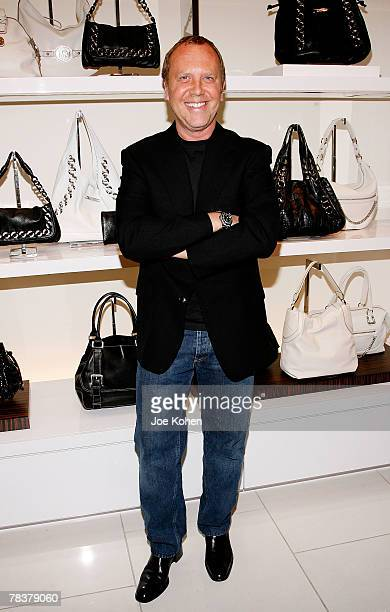 Designer Michael Kors attends Michael Kors Store Opening in Soho New York on December 10 2007 in New York City
