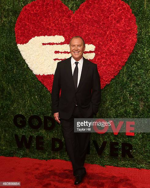 Designer Michael Kors attends the 2015 God's Love WE Deliver Golden Heart Awards at Spring Studios on October 15 2015 in New York City