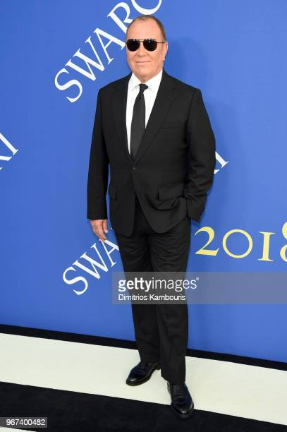 Designer Michael Kors attends the 2018 CFDA Fashion Awards at Brooklyn Museum on June 4 2018 in New York City