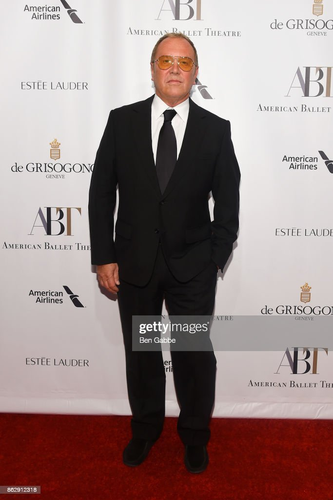 Designer Michael Kors attends the American Ballet Theatre Fall Gala at David H. Koch Theater at Lincoln Center on October 18, 2017 in New York City.