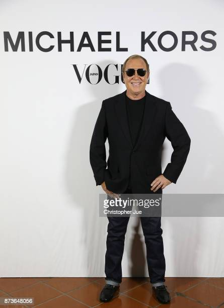 Designer Michael Kors attends the Michael Kors And Vogue Japan Celebrate Kate Hudson#39s Work With Watch Hunger Stop In Support Of The World Food...