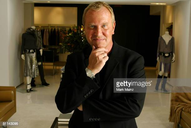 Designer Michael Kors opens his new store on Rodeo Drive August 4, 2004 in Beverly Hills, California.