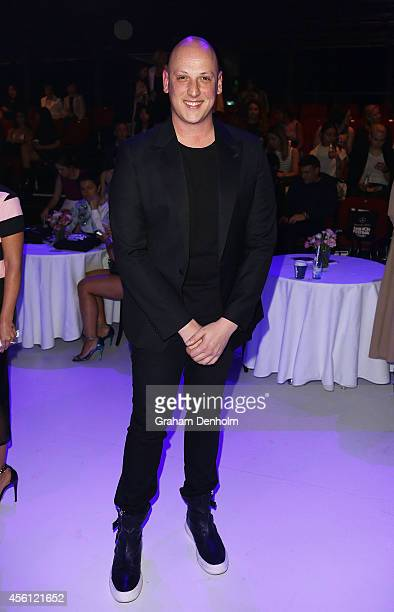 Designer Michael Lo Sordo attends the Lavazza presents from Italy with passion show during MercedesBenz Fashion Festival Sydney at Sydney Town Hall...