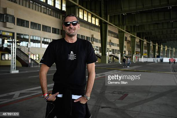 Designer Michael Michalsky attends the first day of the Lollapalooza Berlin music festival at Tempelhof Airport on September 12, 2015 in Berlin,...
