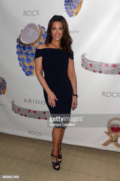 Designer Michelle Falk attends the ARIDO Jewelry Presenting ROCK 6X and ELEVE Art Basel Miami 2017 at Conrad Hotel on December 10 2017 in Miami...