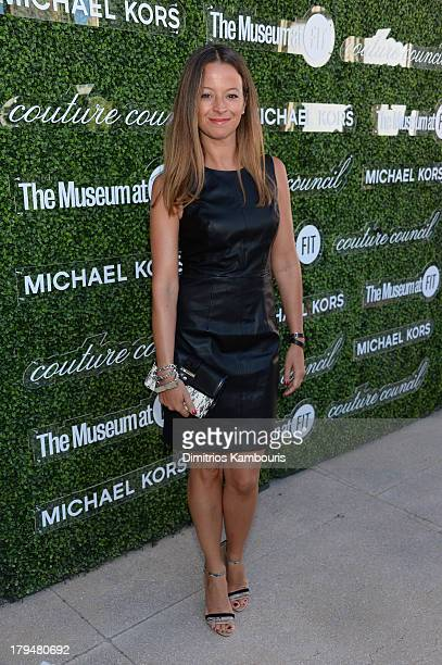 Designer Michelle Smith attends The Couture Council of The Museum at the Fashion Institute of Technology hosted luncheon honoring Michael Kors with...